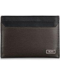 Tumi - Slim Leather Card Holder - Lyst