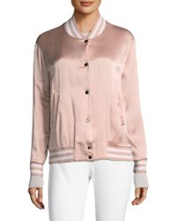ESCADA - Summer Reversible Bomber Jacket - Lyst