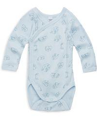 Petit Bateau - Baby's Cotton Bodysuit - Lyst