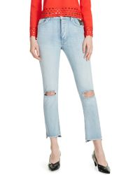 Maje - Paolo Distressed Jeans - Lyst