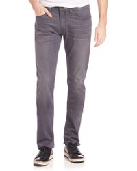 PAIGE | Federal Transcend Slim Fit Jeans | Lyst