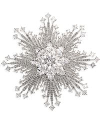 Adriana Orsini - Great Swarovski Crystal Burst Pin - Lyst
