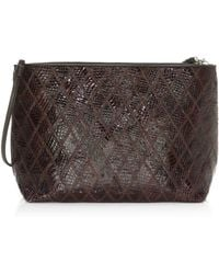 Elizabeth and James - Women's Lucy Patchwork Shoulder Bag - Chocolate - Lyst