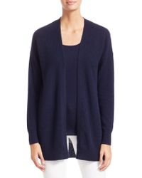 638367becf Saks Fifth Avenue Collection Featherweight Cashmere V-neck Sweater ...