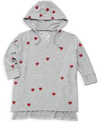 Chaser - Little Girl's & Girl's Tiny Hearts Hoodie - Lyst