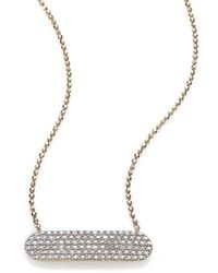 Phillips House - Affair Diamond & 14k Yellow Gold Infinity Bar Necklace - Lyst