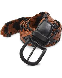 Saks Fifth Avenue   Collection Braided Belt   Lyst