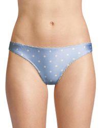 Zimmermann - Scalloped Dot Panty - Lyst