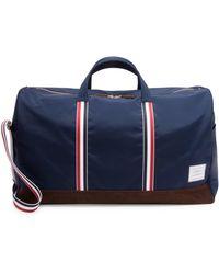 Thom Browne - Leather Duffel Bag - Lyst