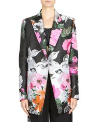 Off-White c/o Virgil Abloh - Jacquard Double-breasted Floral Jacket - Lyst