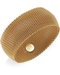Gas Bijoux - 24k Goldplated Chain Cuff Bracelet - Lyst