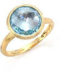 Marco Bicego - Jaipur 18k Gold & Topaz Cocktail Ring - Lyst