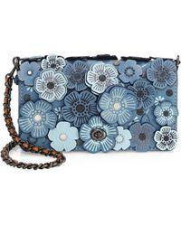 COACH - 1941 Tea Rose Appliqué Leather Crossbody Bag - Lyst