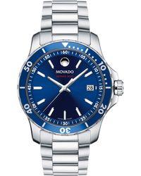 Movado - 800 Series Stainless Steel & Aluminum Bracelet Watch - Lyst