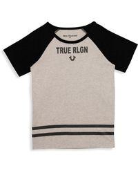True Religion - Little Boy's & Boy's Branded Logo Tee - Lyst