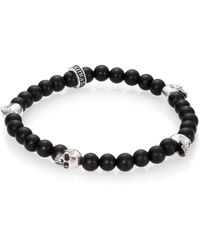 King Baby Studio - Onyx Beaded Bracelet - Lyst