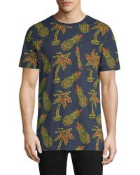 Wesc - Maxwell Pineapple All Over Print Graphic Cotton T-shirt - Lyst