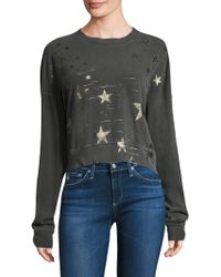 Stateside - Foiled Star Pullover - Lyst