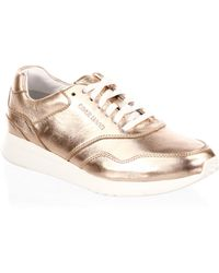 Cole Haan | Grandpro Leather Trainers | Lyst