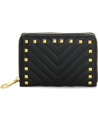 Rebecca Minkoff | Becky Zip-around Quilted Leather Wallet | Lyst