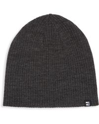 Block Headwear - Reversible Ribbed Beanie - Lyst