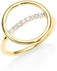 Phillips House - Affair Halo Diamond Ring - Lyst