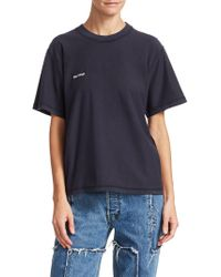 Vetements - Embroidered Inside Out Tee - Lyst