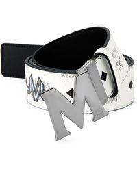 MCM - Logo-print Belt - Lyst