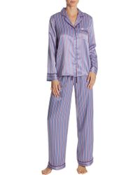In Bloom - Around You Satin Pyjama Set - Lyst