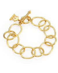 Temple St. Clair - 18k Yellow Gold Arno Chain Link Bracelet - Lyst