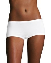 Hanro - Soft Touch Boyshort - Lyst