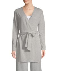 Saks Fifth Avenue - Collection Hattie Wrap Robe - Lyst