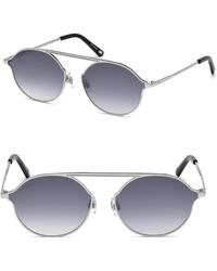 Web - Round Metal Sunglasses - Lyst