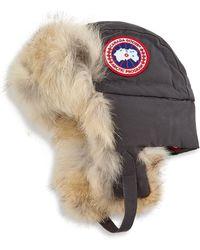 Canada Goose - Fur-trimmed 1900 Aviator Hat - Lyst