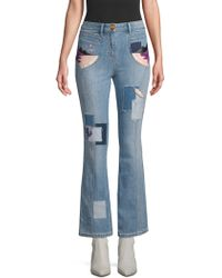 COACH - 1941 Embroidered Denim Jeans - Lyst