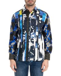 Robert Graham - Men's Limited Edition Fear The Tiger Classic Fit Graphic Sport Shirt - Lyst