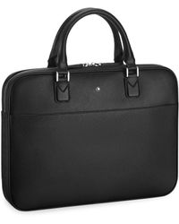 Montblanc - Ultra Slim Leather Document Case - Lyst
