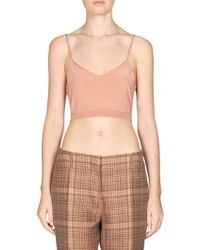 Dries Van Noten - Knit Bra Top - Lyst
