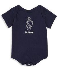 Knowlita - Baby's Snow White Sleepy Cotton One Piece - Lyst