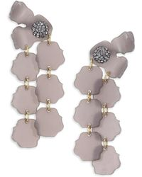 Lele Sadoughi | Petal Drop Earrings | Lyst
