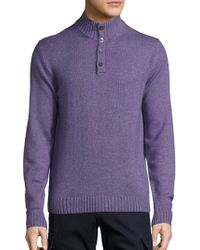 Saks Fifth Avenue - Cashmere Blend Jumper - Lyst
