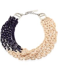 Lafayette 148 New York - Multi-strand Link Necklace - Lyst