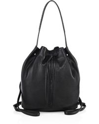 Elizabeth and James - Finley Sling Leather Bucket Bag - Lyst
