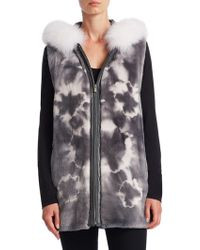 Saks Fifth Avenue - Sheared Fur Vest - Lyst