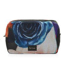 Paul Smith - Rose Print Travel Bag - Lyst