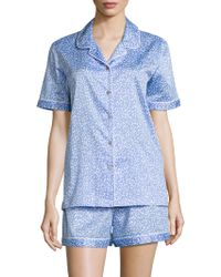 Natori - Leopard Print Short Pyjama Set - Lyst