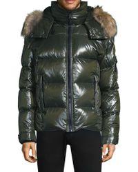 Sam. - New Mountain Glossy Puffer Jacket - Lyst