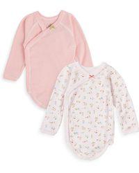 Petit Bateau - Baby's Two-piece Cotton Bodysuit Set - Lyst