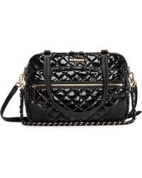 MZ Wallace - Crosby Quilted Lacquer Crossbody Bag - Lyst