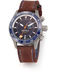 Brera Orologi - Eterno Gmt Stainless Steel Watch - Lyst